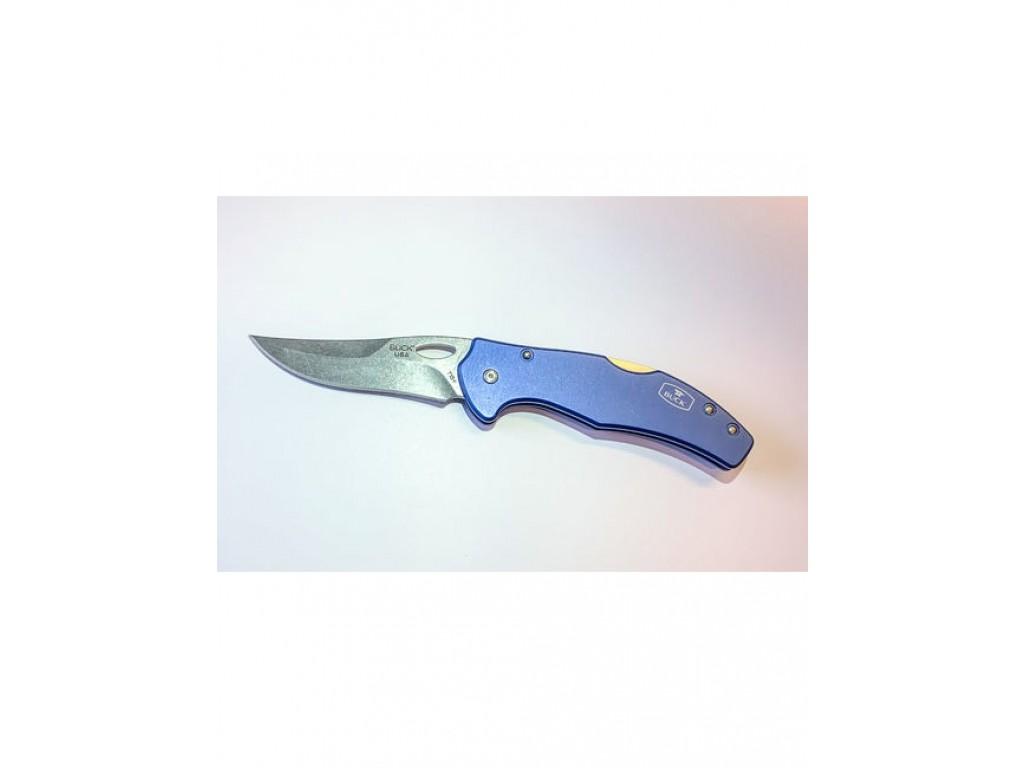Buck ASCEND LT BLUE BOX