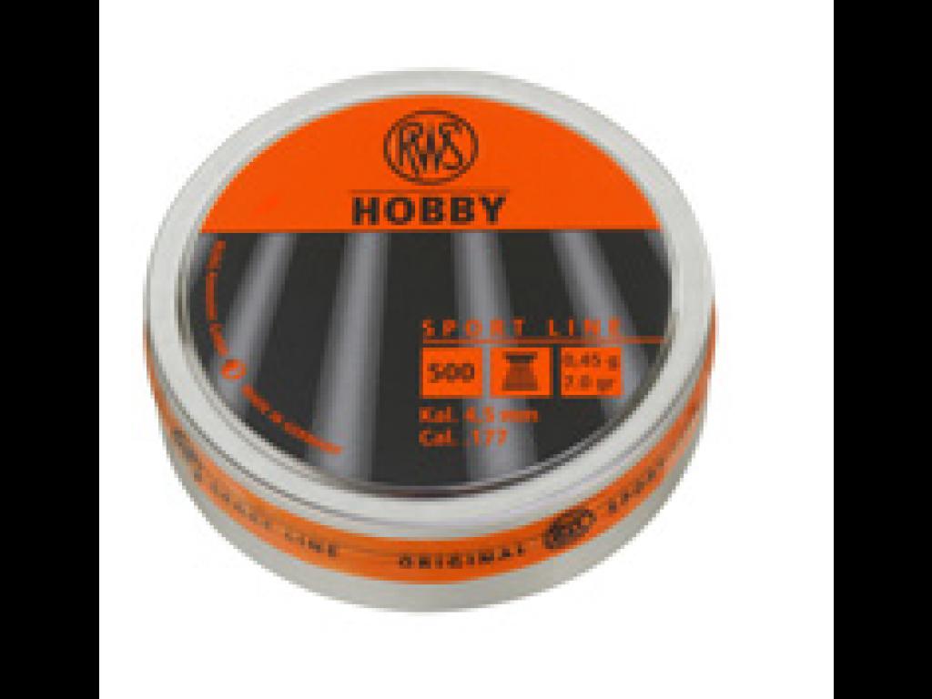 RWS HOBBY KUGLE RIFLET 4,5MM 0,45G 500STK.