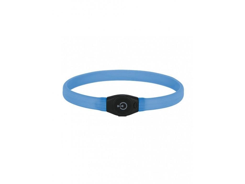 Kerbl MAXI SAFE LED halsbånd blå