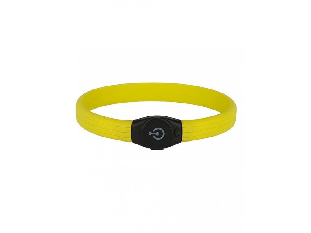 Kerbl MAXI SAFE LED Halsbånd Grøn