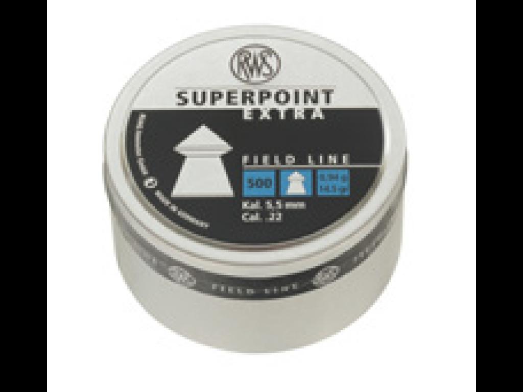 RWS SUPER POINTED SPIDSKUGLE 5,5MM 0,94G 500 STK.