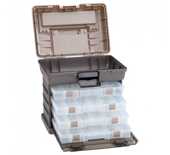 Rack m/4 kasser Guide serie Plano 1374 41,25x30x40