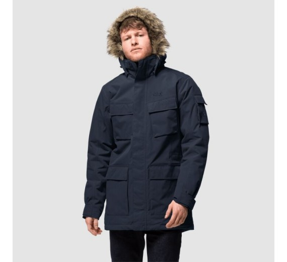 Jack Wolfskin Glacier Canyon Parka, M, night blue-03