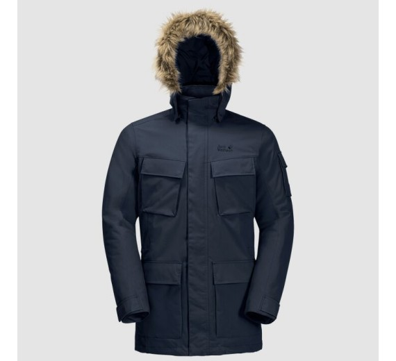 Jack Wolfskin Glacier Canyon Parka, M, night blue
