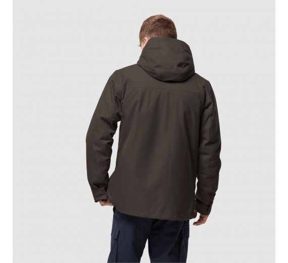 Jack Wolfskin Clifton Hill Jacket, M, brownstone-02