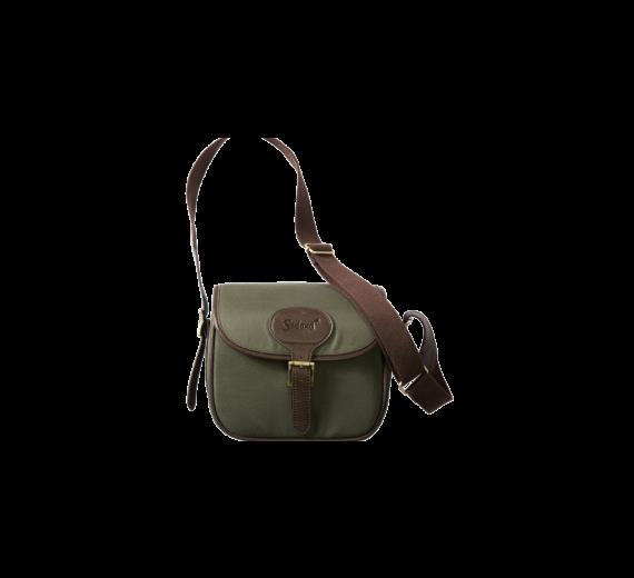 Seeland Cartridge Bag Canvas 125 bullits, greenbrown