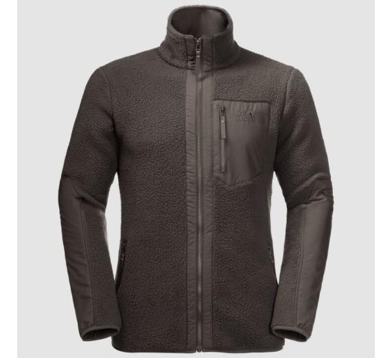 Jack Wolfskin Kingsway Jacket, M, brownstone