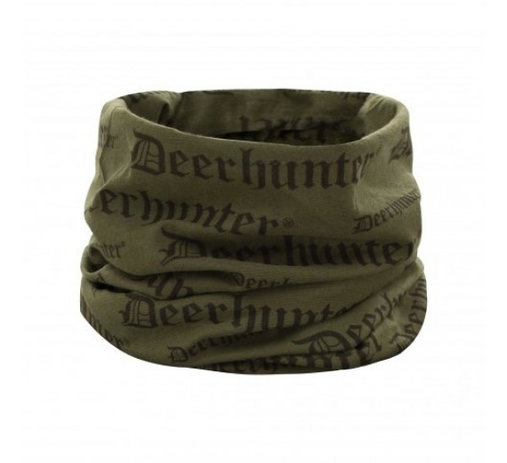 Deerhunter Logo Halsedisse, one-size, tarmac green