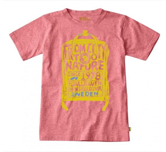 Fjällräven Kids T-shirt, peach-pink 116