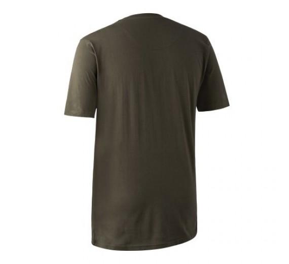 Deerhunter T-shirt 2pak, M, green/brown XL-01