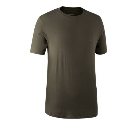 Deerhunter T-shirt 2pak, M, green/brown XL