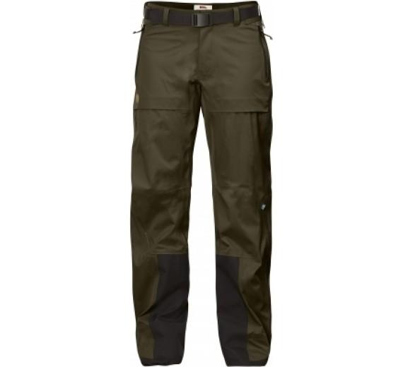 Fjällräven Keb Eco-Shell Trousers W, dark olive