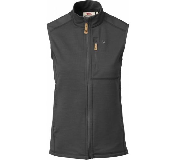 Fjällräven Keb Fleece Vest W, dark grey/black