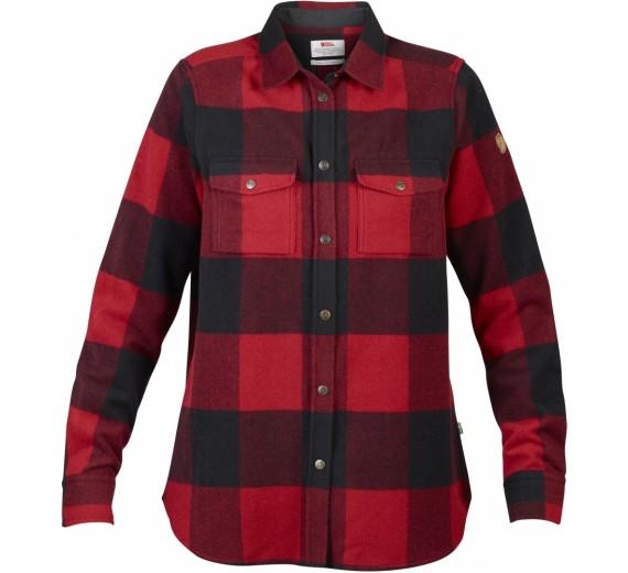 Fjällräven Canada Shirt, W, red