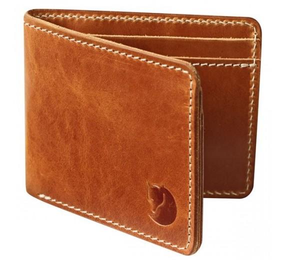 Fjällräven Ôvik Wallet, leather cognac