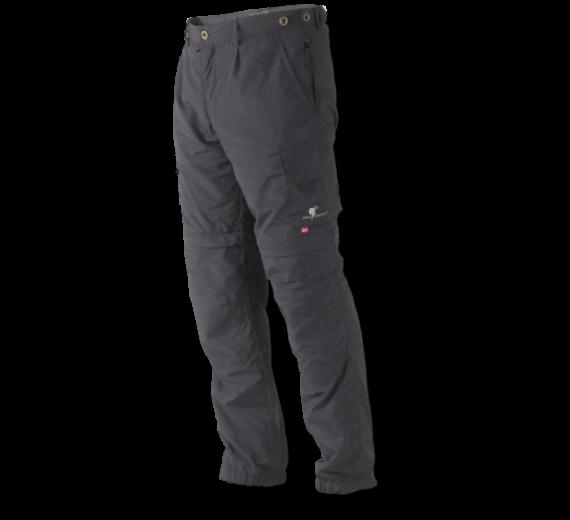 WOLF CAMPER ADVENTURE BUKSER zip-off, grey