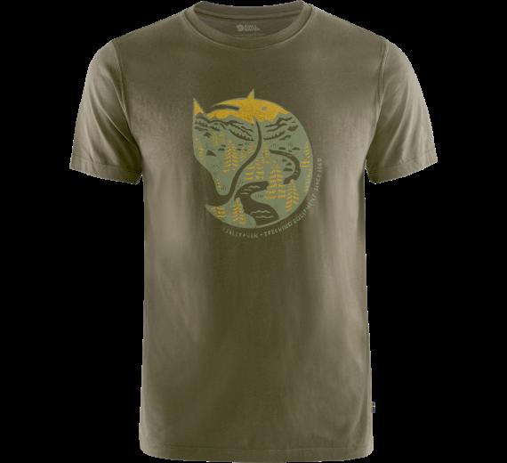Fjällräven Arctic Fox T.shirt M, dark olive