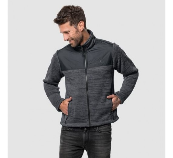 JACK WOLFSKIN AQUILA JACKET MEN DARK IRON-02