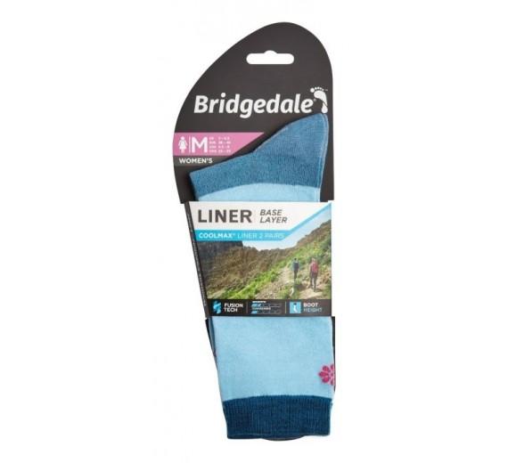 BRIDGEDALE EVERYDAY COOLMAX LINER W NAVY-01