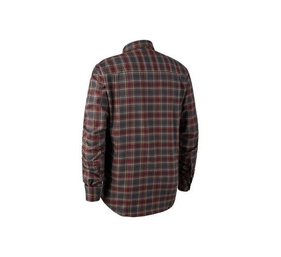 Deerhunter CALVIN SKJORTE M.STRETCH RED CHECKED-01