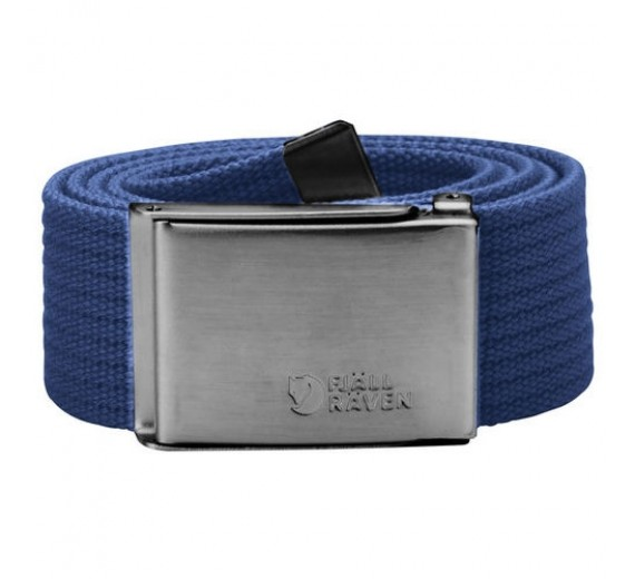 FJÄLLRÄVEN CANVAS BELT OS DEEP BLUE