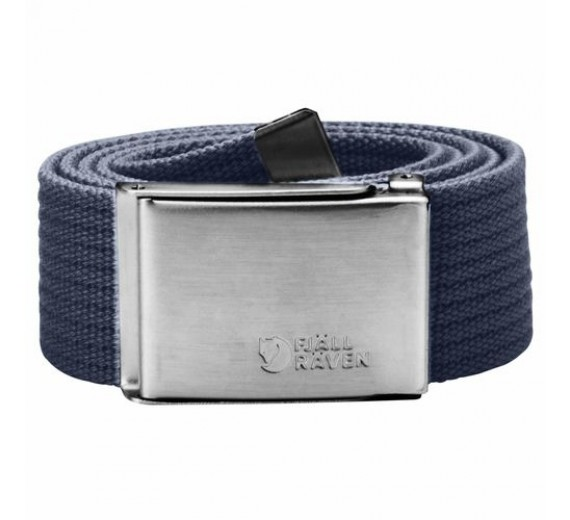 FJÄLLRÄVEN CANVAS BELT OS DARK NAVY