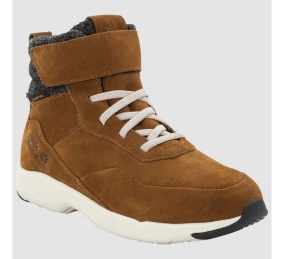JACK WOLFSKIN CITY BUG TEXAPORE MID K BROWN