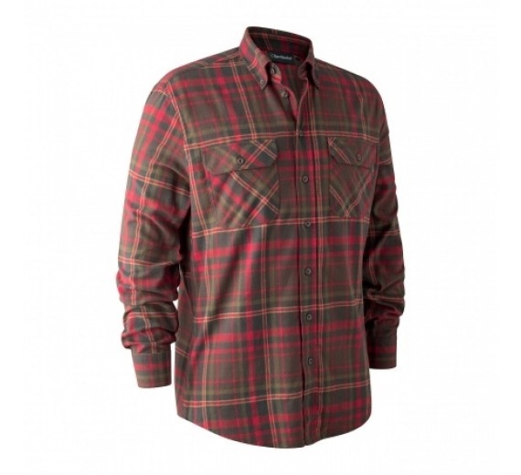 Deerhunter MARVIN SKJORTE Red Check