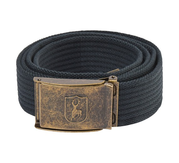 Deerhunter CANVAS BELT m/stretch 130cm, dark anthracite