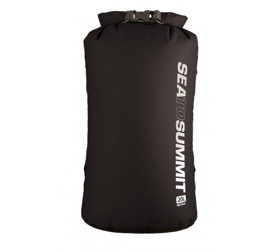 SEA TO SUMMIT BIG RIVER DRY BAG 20 LITRE BLACK