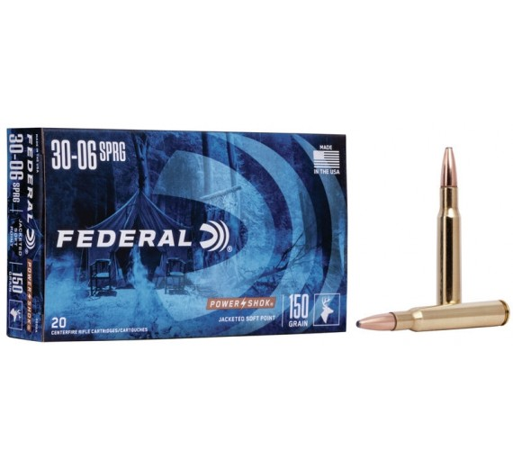FEDERAL 30-06 BLYFRI 9,7G/150GR COPPER POWER SHOK