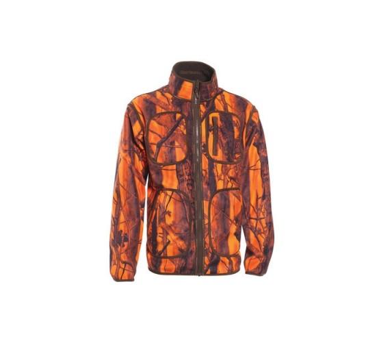Deerhunter GAMEKEEPER FLEECE JAKKE vendbar, orange