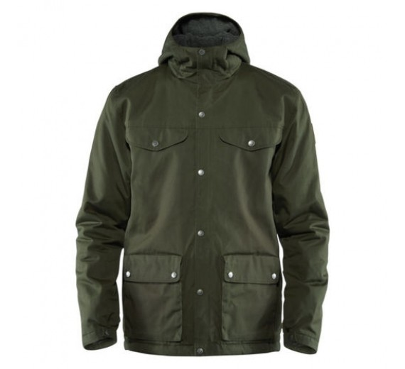 FJÄLLRÄVEN GREENLAND WINTER JACKET, M, deep green