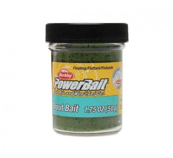 Berkley POWERBAIT Trout Bait Green Pumpkin