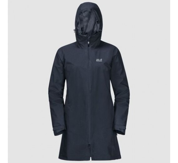 JACK WOLFSKIN JWP COAT WOMEN NIGHT BLUE