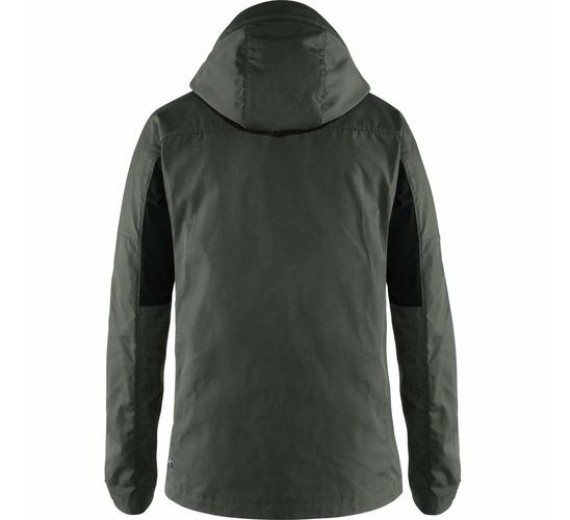 FJÄLLRÄVEN KAIPAK JACKET M DARK GREY/BLACK-01