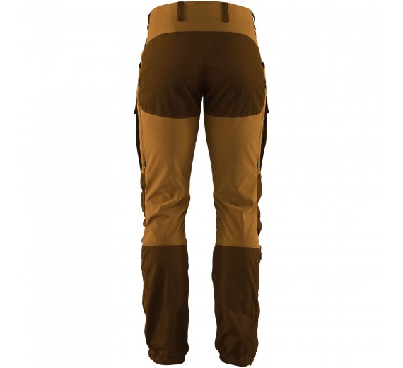 FJÄLLRÄVEN KEB TROUSERS M REGULAR CHESTNUT ACORN-01