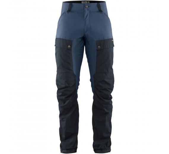 FJÄLLRÄVEN KEB TROUSERS M REGULAR DARK NAVY - UNCLE BLUE