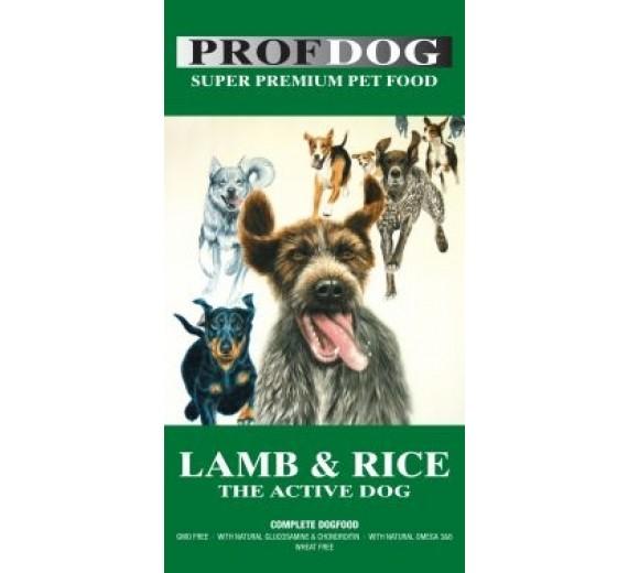 PROF. DOG LAMB & RICE 12 KG