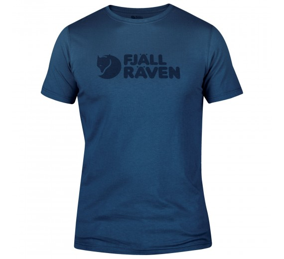 FJÄLLRÄVEN LOGO T-SHIRT M UNCLE BLUE