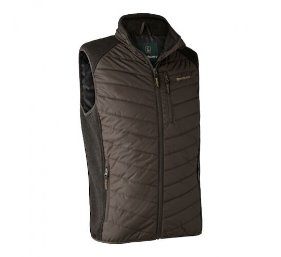 DEERHUNTER MOOR VATTERET VEST BROWN LEAF