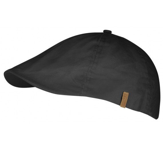 FJÄLLRÄVEN ÖVIK FLAT CAP DARK GREY