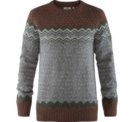 FJÄLLRÄVEN ÖVIK KNIT SWEATER, M, AUTUMN LEAF