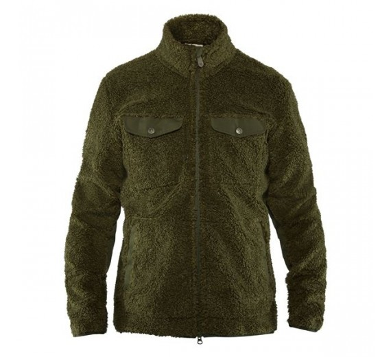 Fjällräven GREENLAND PILE FLEECE deep green