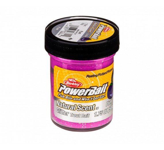 Berkley POWERBAIT Glitter Natural Scent Plum