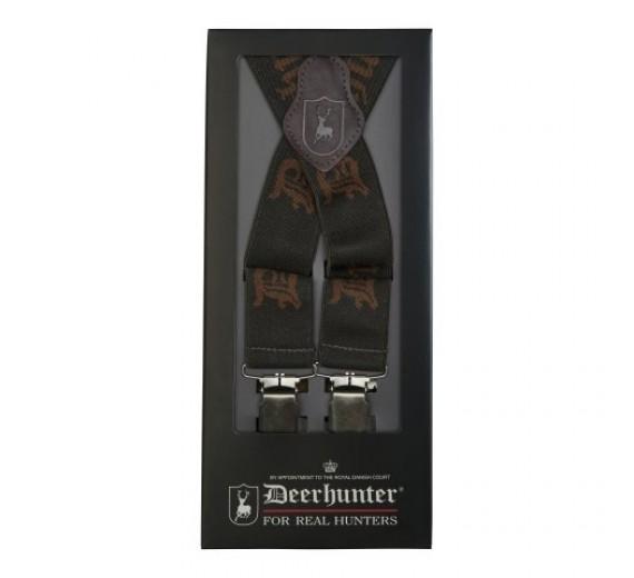 Deerhunter Logo Seler m/clips 120cm, art green-01