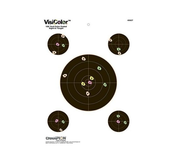 selvmarkerende skydeskiver