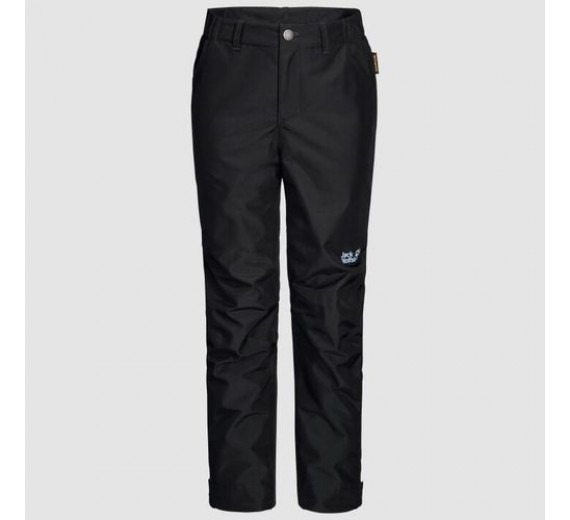 JACK WOLFSKIN SNOWY DAYS PANTS KIDS BLACK