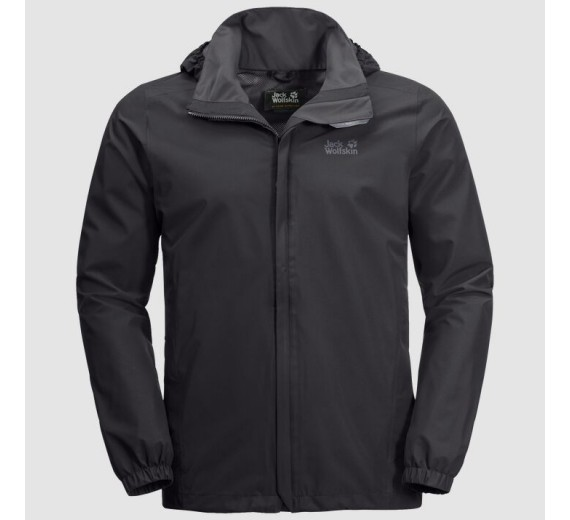 Jack Wolfskin Stormy Point Jacket M, black