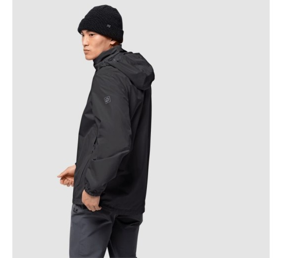 Jack Wolfskin Stormy Point Jacket M, black-03